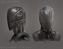 Robot Helmet - Concept Design