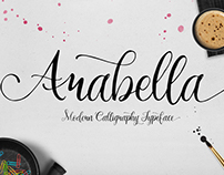 FREE Arabella Calligraphy Font