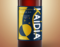 Kaidia Beer Labels