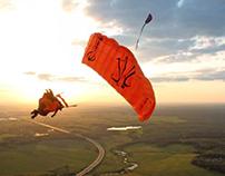 FlyLikeBrick - Acrobatic wingsuit flying - Identity