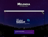 Personal homepage design