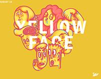 YELLOW FACE黃臉 _LINE sticket