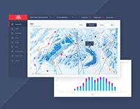 Management system for ski resorts | ui/ux design