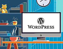 """Wordpress TCD"" animation"