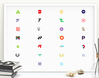 Alphabetic Series - Logo Marks