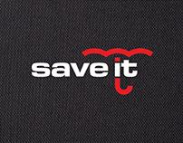 Товарный знак и стиль «Save it»