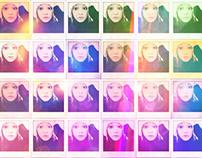 iPhone Digital Art Self-Portraits