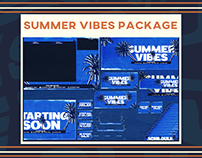 Summer Vibes Twitch Package