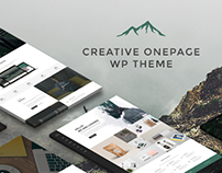 Luvaniz - Creative One Page WordPress Theme