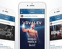 Sergey Kovalev Social Media Graphics