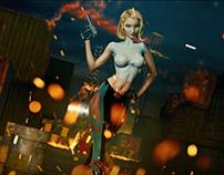 J Scott Campbell's Danger Girl Statue Preview