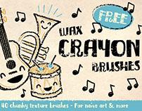 FREE Crayon Brushes