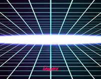 Neon Grid 80's - Art Speed