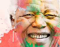 A Portrait for Nelson Mandela