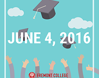 Fremont College Graduation Graphics