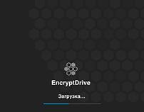 "Дизайн-проект UX UIiOS App ""EncryptDrive"""