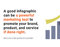 Tips to Create An Effective Infographic - Cue card