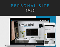 Personal Site 2016