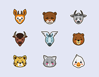 Animals Icons Freebie