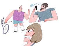 2018 editorial illustrations