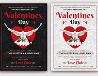Valentines Day Flyer Template V13