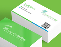 Z-Square Business Card