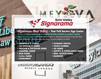 Postcard Design for Signarama