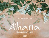 Aihana Handwritten font