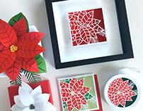 Poinsettia Gift Set