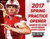 2017 Miami Football - Spring Practice