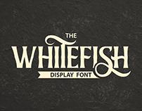 Whitefish Display Font