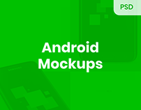 Android Mockups [PSD]