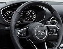 Audi Virtual Cockpit UI