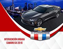 Intervención Urbana / Camaro Six 2016