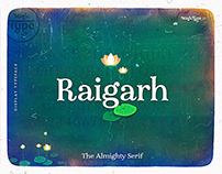 Raigarh - Latin Display Typeface
