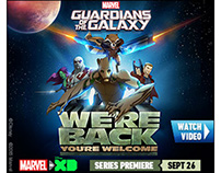 Disney XD Guardians of the Galaxy Banners
