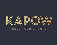 Kapow Site Rebrand