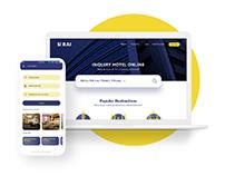 Hotel and Rooms Rental-Website/Mobile App-Design UIUX
