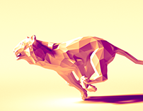 lowpoly of 2016
