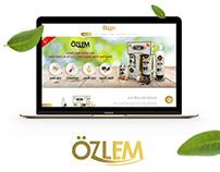 ozlem website & landpages
