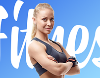 Redesign of the fitness club site «World of fitness»