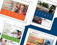 Portal Web Corporativo + Micrositios Comerciales