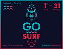 Go Surf | Modern and Creative Templates Suite