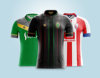 Moroccan League Teams Home Kit Concepts