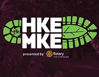 HKE MKE (Hike Milwaukee) branding