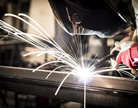 What are the processes of metal fabrication?