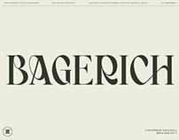 BAGERICH FONT