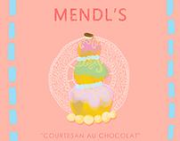 """Illustration/ """"Courtesan au Chocolat"""""""