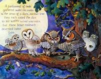 """Parliament of Owls"""