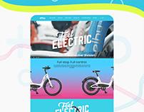 E-bike sharing business model